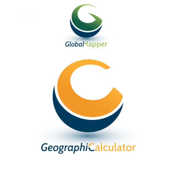 Global Mapper dan Geographic Calculator