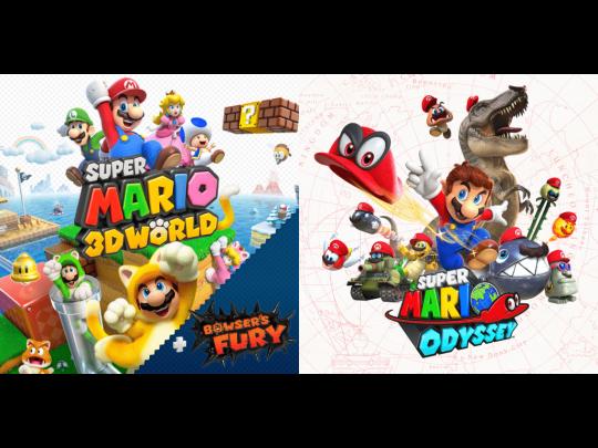 Super Mario 3D World dan Odyssey
