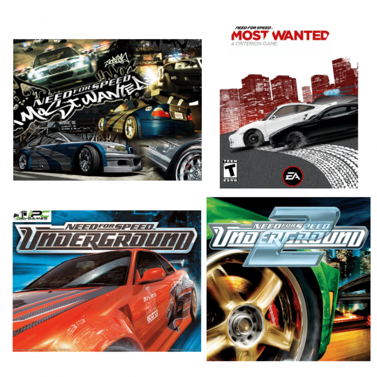 Need For Speed Games Collection Suite