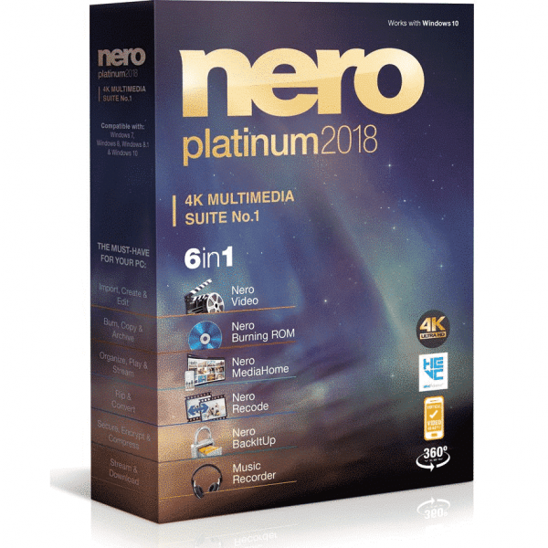 Nero Platinum 2018 Suite