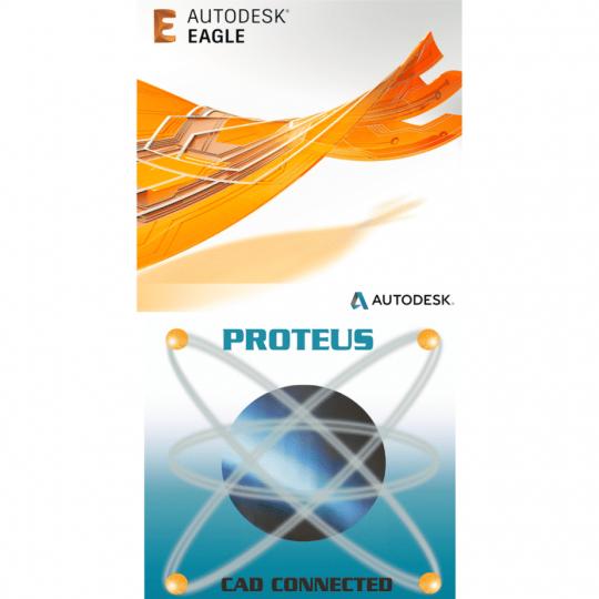 EAGLE Premium dan Proteus Professional
